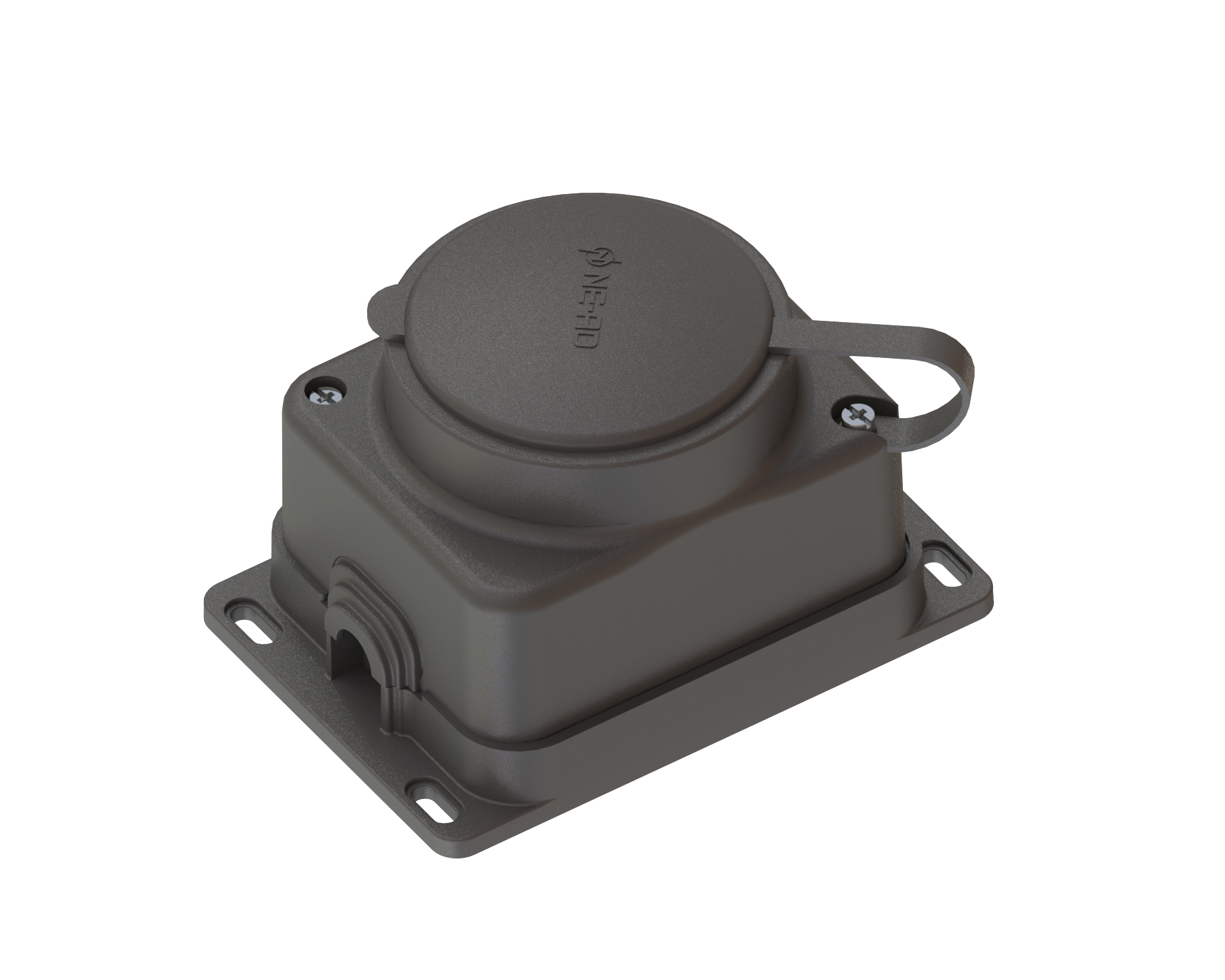 1*16 A Wall Socket With Cover / 4003