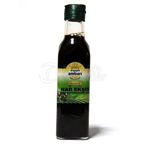 Org. Pomegranate Syrup 300 Gr