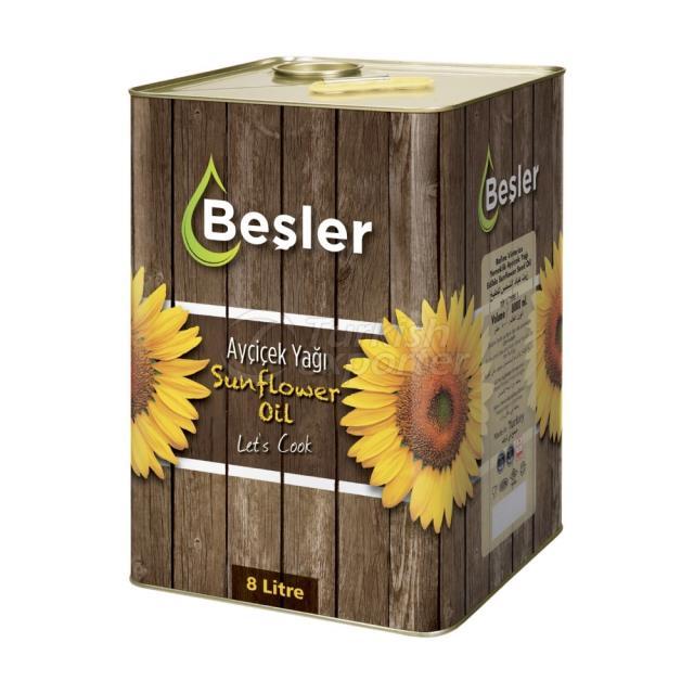 Sunflower Oil 8lt