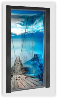 Elevator Cabin - Amethyst