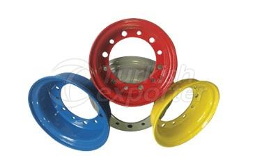 Two-Piece Rims for Forklift