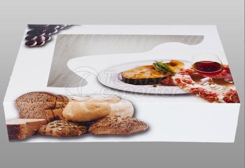 Embalaje de pizza y catering