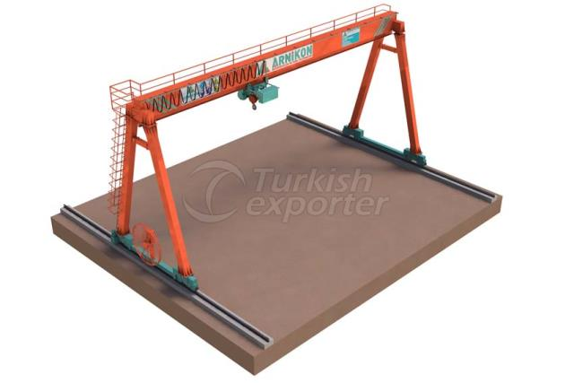 Single Girder Gantry Cranes
