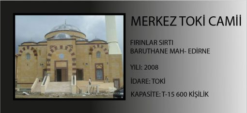 Edirne Mass Housing Mosque