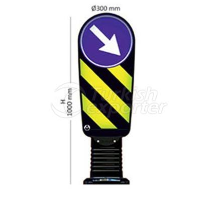 Sign Carrying Bollards    12250 UB R