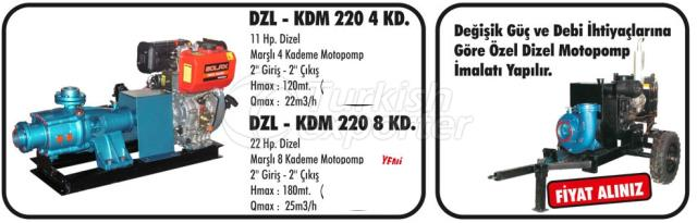 Diesel and Gasoline MotoPumps
