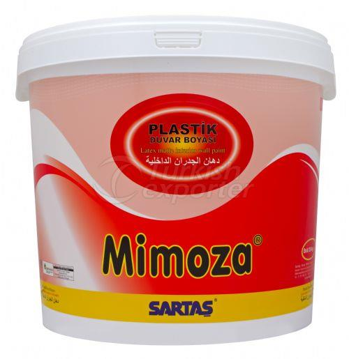 Pintura interior Mimoza Flat Latex