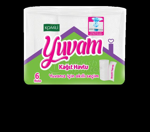 Komili Yuvam Paper Towel 6 Rolls