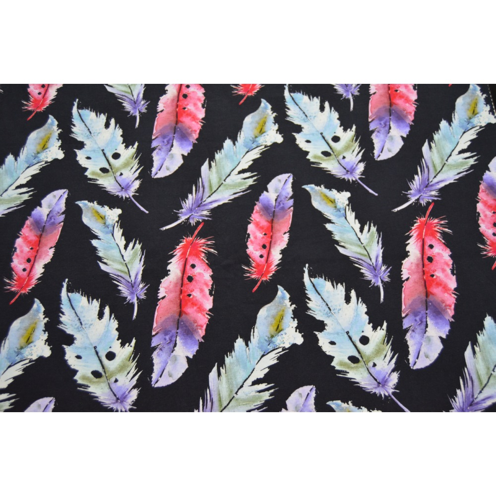 Digital Reactive Printed Viscose Jersey Fabric
