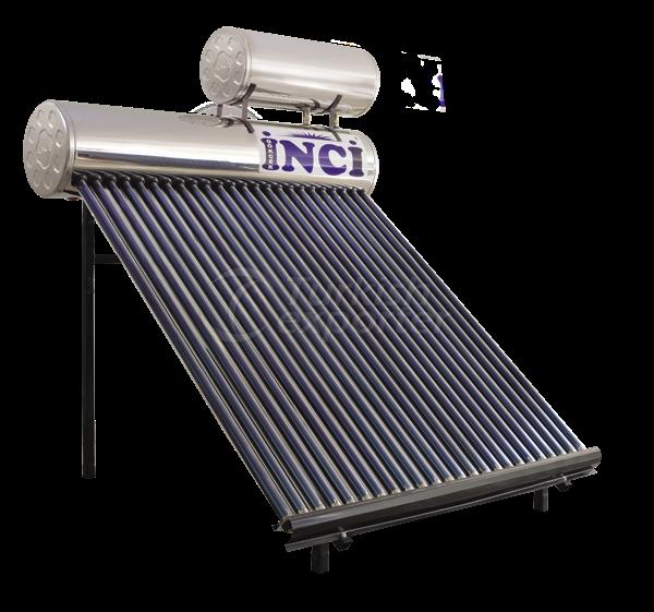 24 Vacuum Tubes 80 LT Chrome Solar Water Heater