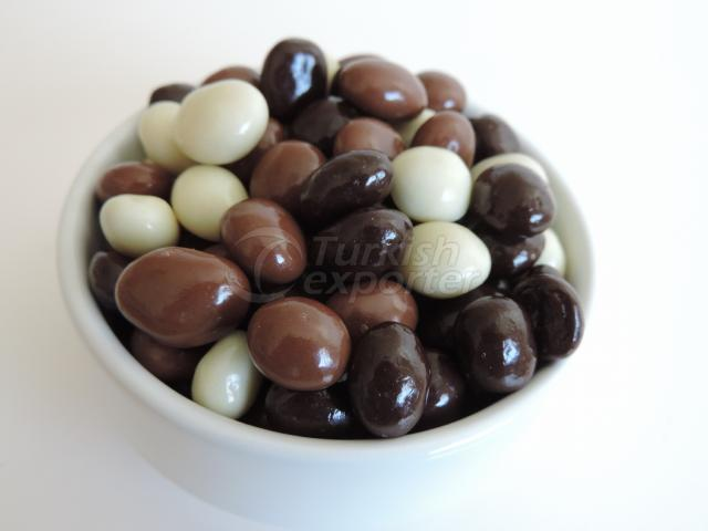 Mixed Chocolate Coffee Beans