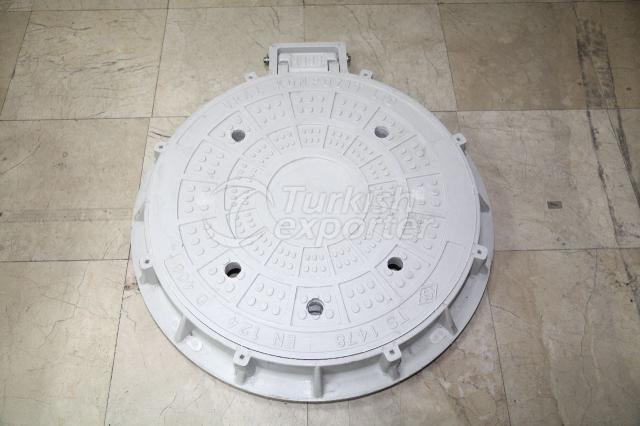 Hinged Manhole Cover