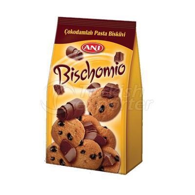 Çikolata parçalı Bisküvit