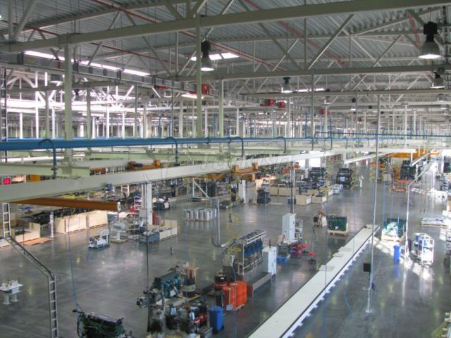 Equipamentos de linha de montagem de caminhões Volvo
