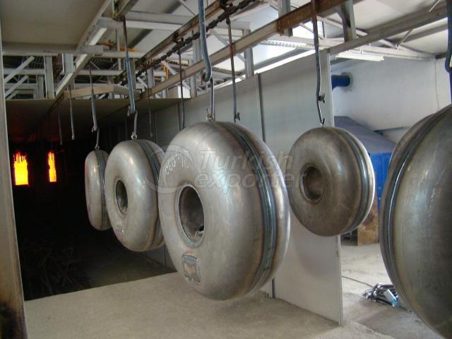 Wheel Type Auto Tanks