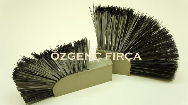 Cepillos para máquinas Bordure de hormigón