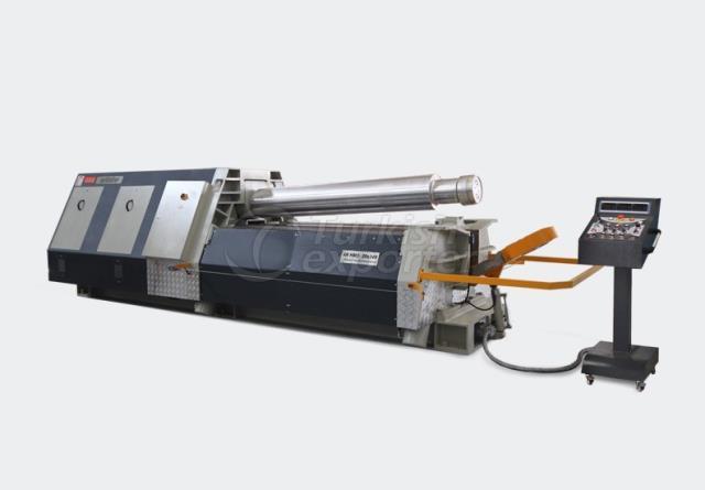 Máquina de dobrar chapas com 4 cilindros - 4R HMD