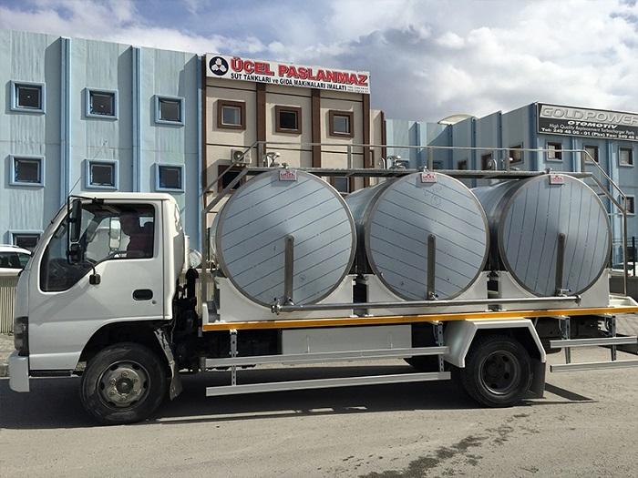 Milk Transportation Tanks