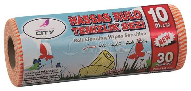 T-696 Roll Cleaning Wipes