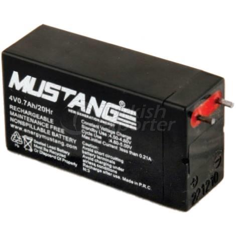 Battery 6V-Battery12v Mustang