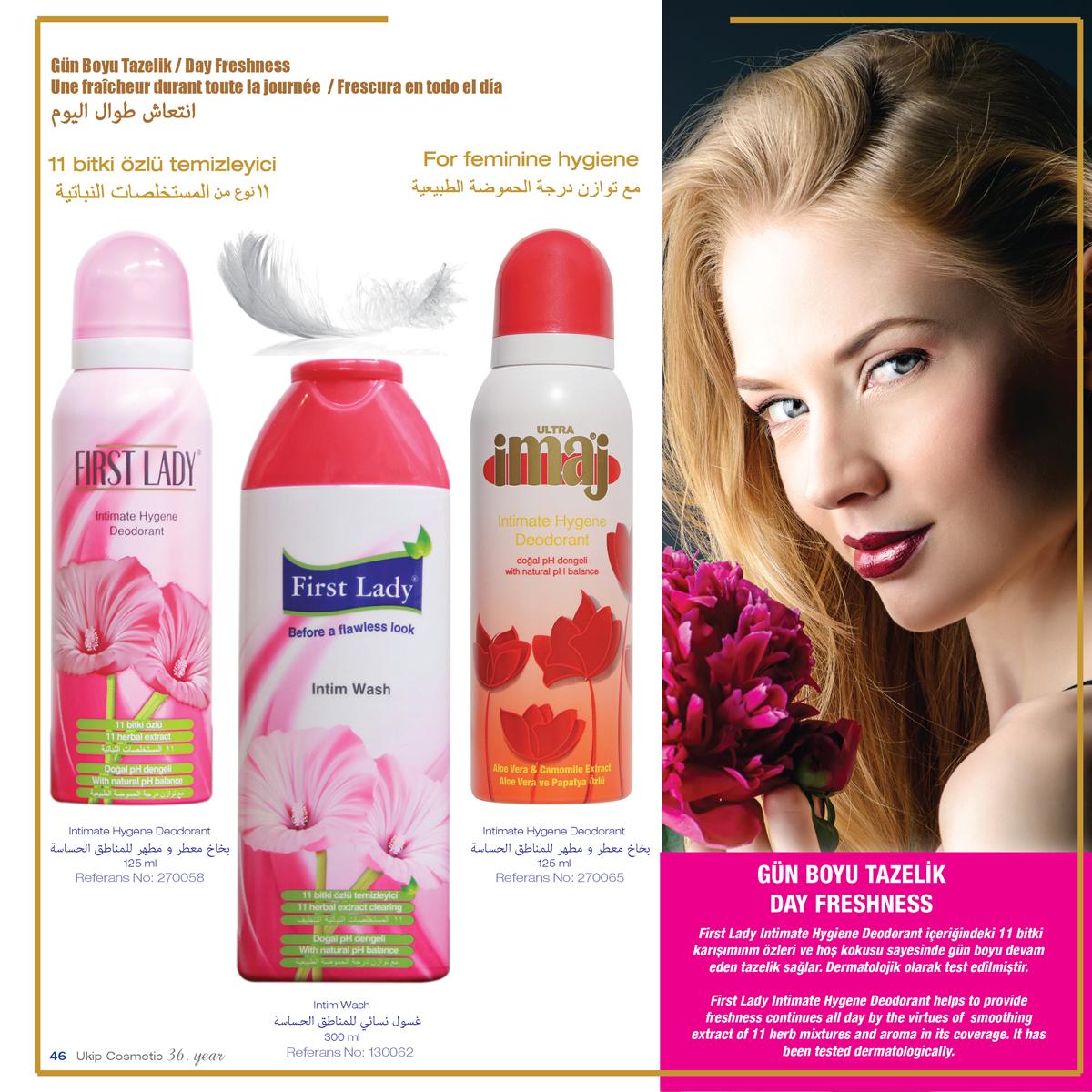 First Lady Intimate Hygiene Deodorant