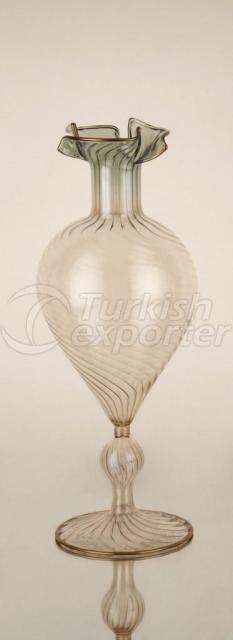 Green Small Vase 1MEl-Y032