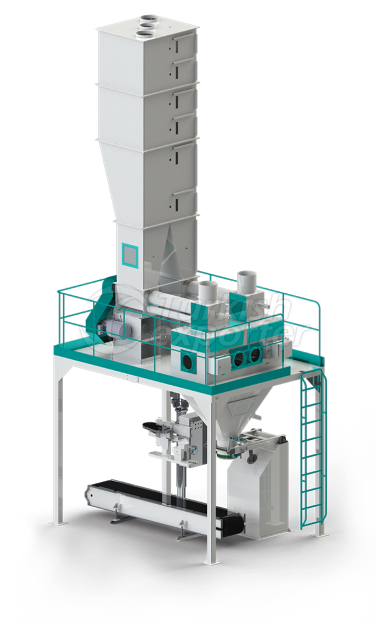 Double Flour Bagging Machine System