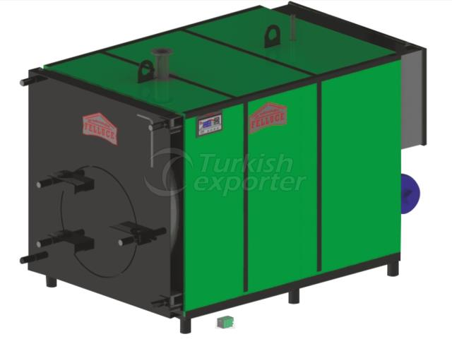 Central Full Cylindrical Manual Heating Boiler