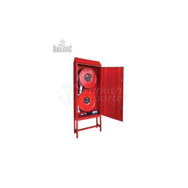 Field Type Double Spool Controlled Lance Red Fire Cabinets EN 2222