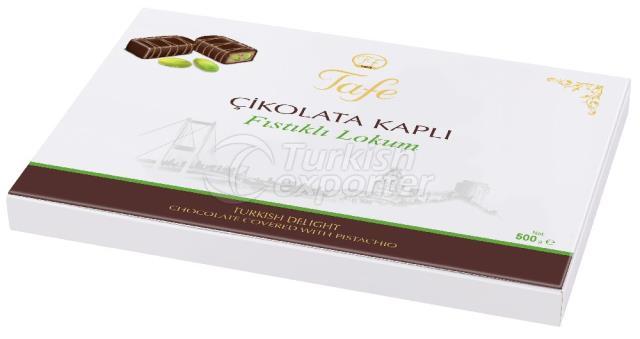 Chocolate Coberto Delícia Turca Pistache 805