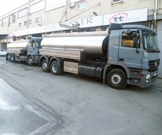Stainless Steel Tanker