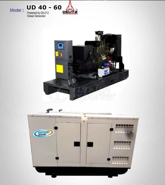Diesel Generator - UD 40 - 60