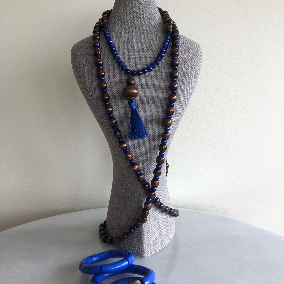 Blue and Brown Set