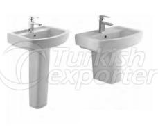 Washbasin and Pedestal