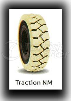 Solid Forklift Tires (White) 18x7-8