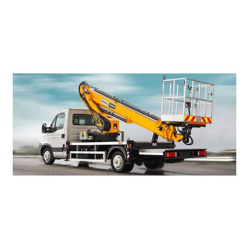 Truck Mounted Aerial Platforms HK 18 TP2