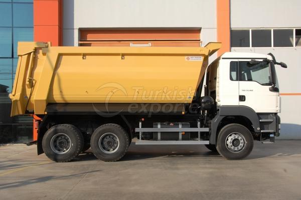 Truck Mounted Half Pipe Dump05