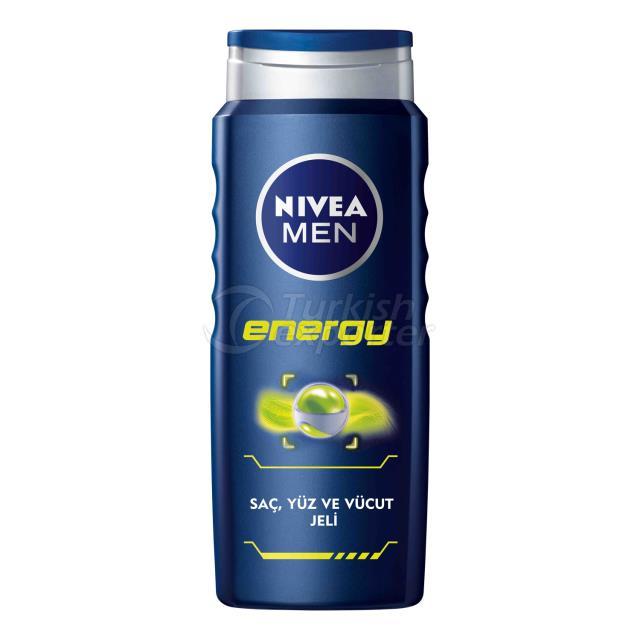 Gel de ducha Nivea Men Energy 250Ml