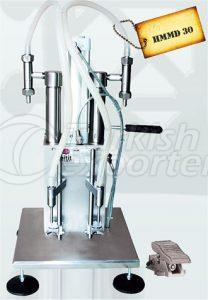 Manuel Double Liquid Filling Machine