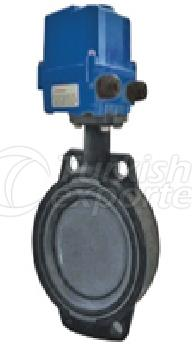 PVC-UH Butterfly Valve Electric Actuator
