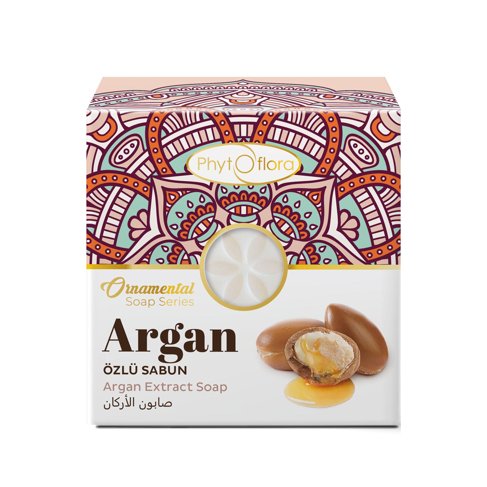 argan herbal soap - ornamental soap series