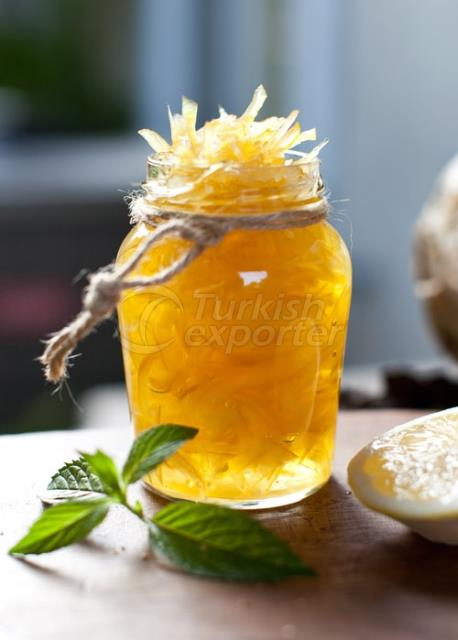 Sirop de citron confit sirupeux