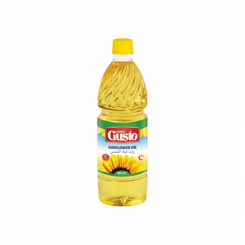 Master Gusto Sunflower Oil 880 ml