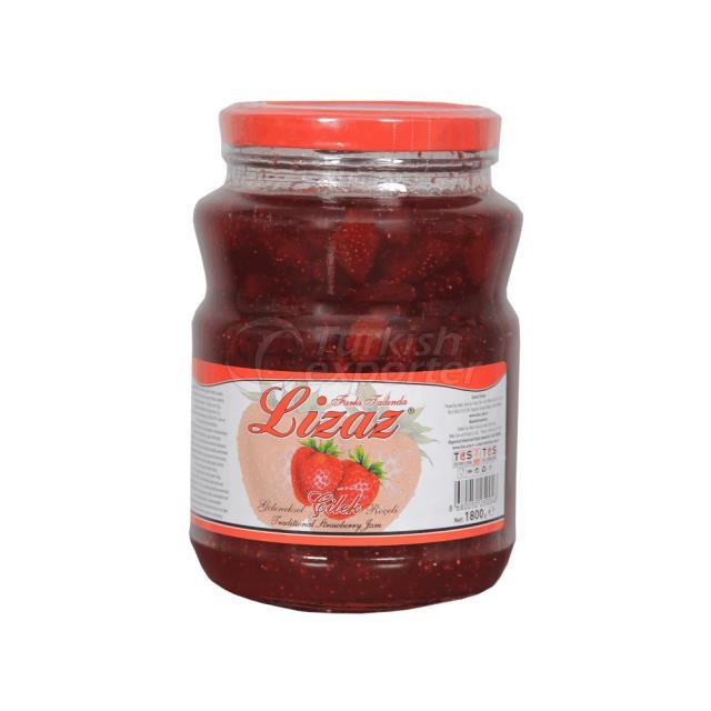 Réserve de fraises
