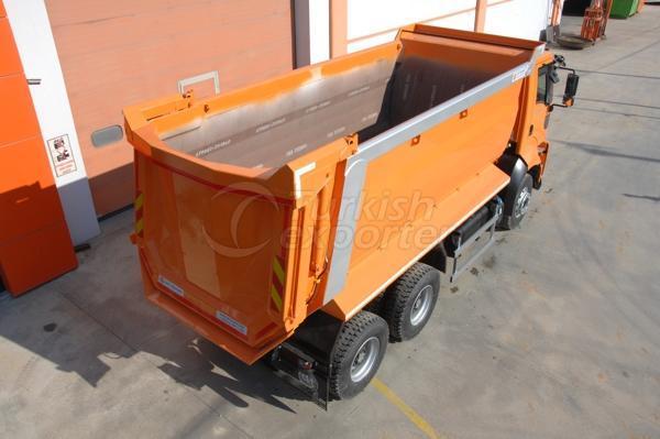 Camiones montados medio tubo Dump03