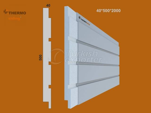 Fluted Cladding Model 09