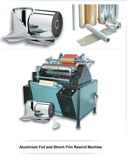 Papel de aluminio - Strech Film Rewind Machine