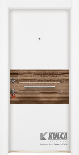 D-2029 ( PVC STEEL DOOR )