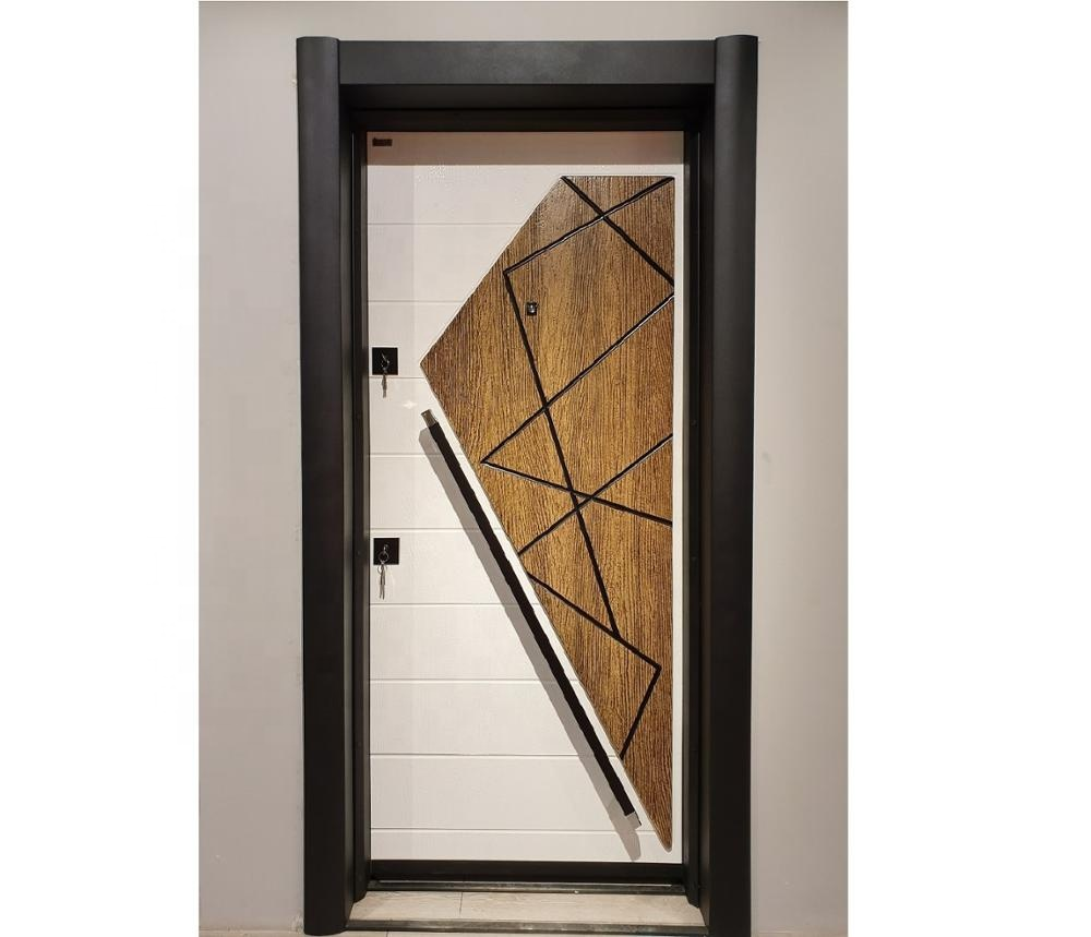 Exterior Climate Steel Door-Water and rain resistant steel door
