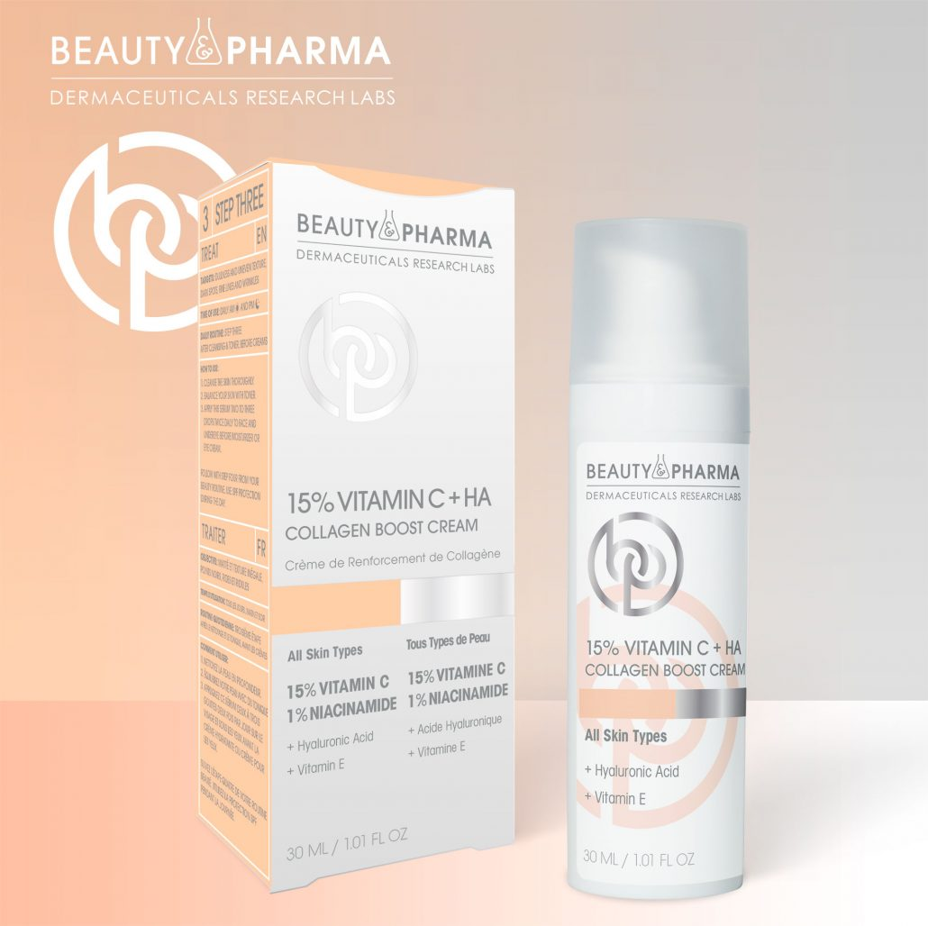 15% Vitamin C + HA Collagen Boost Cream & 15% VITAMIN C + HA ANTIOXIDIZING DEFENSE SERUM